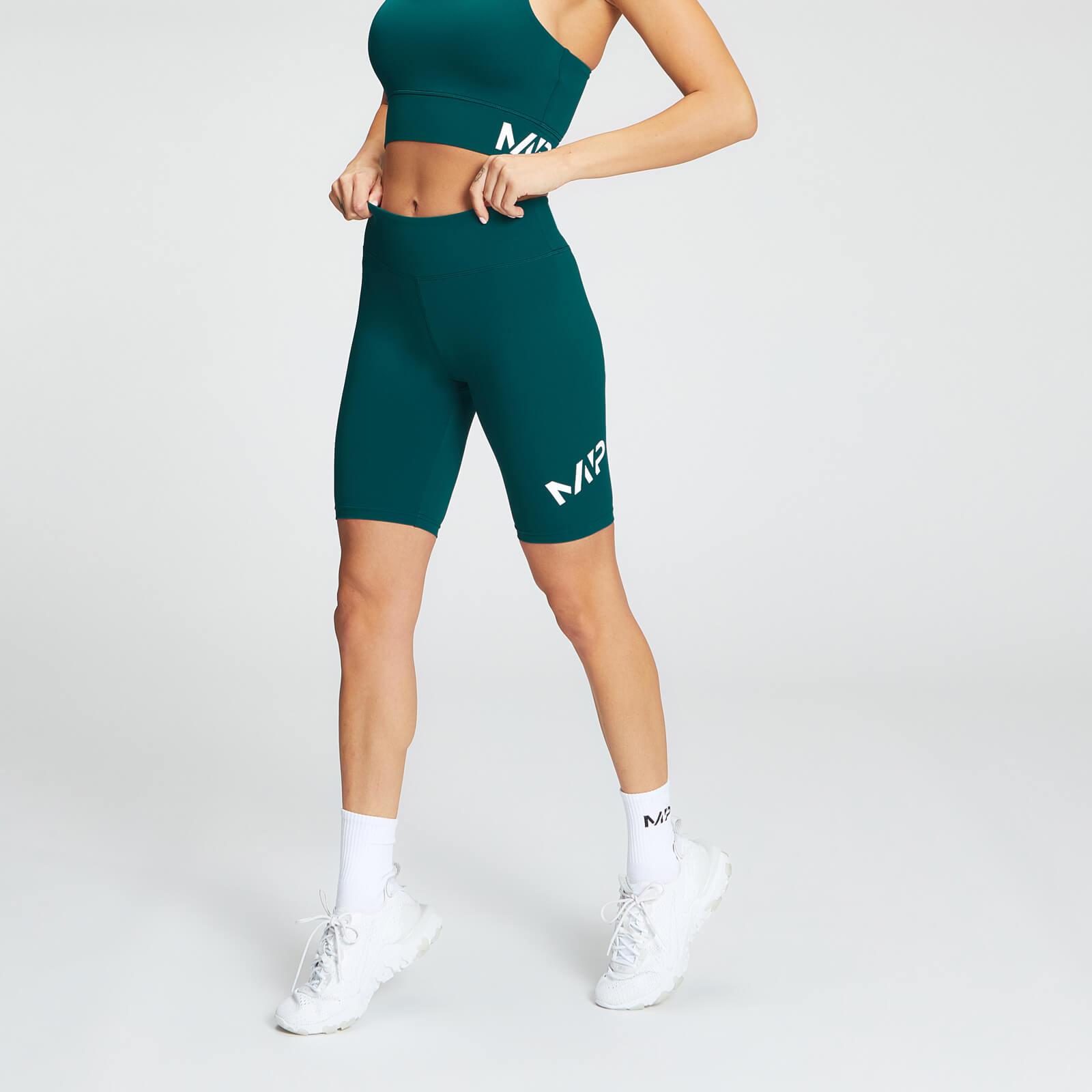 Купить MP Essentials Training Women's Full Length Cycling Short - Deep Teal - XXS, Myprotein International