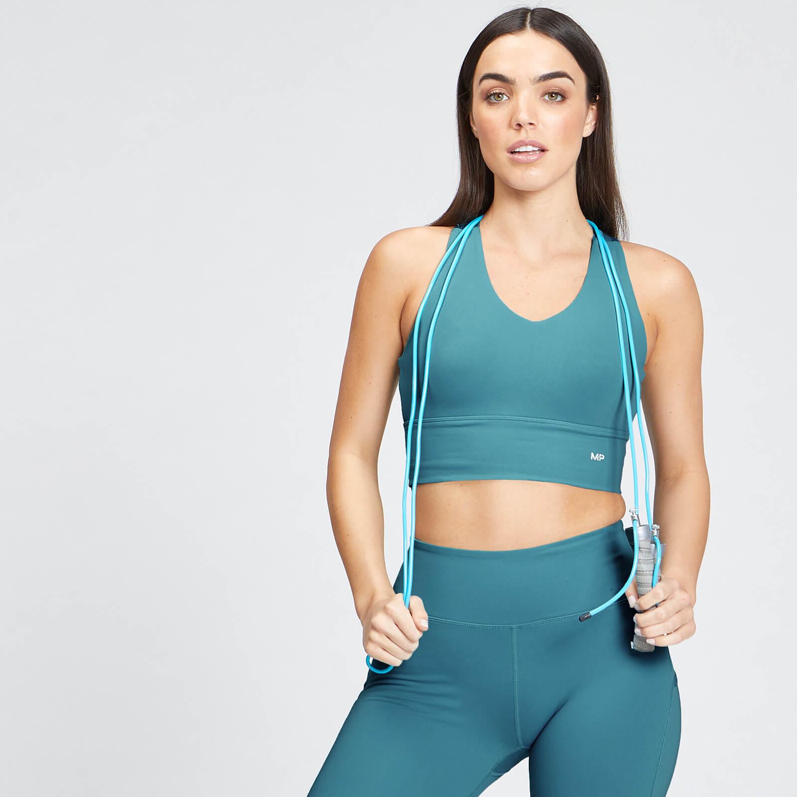 Купить MP Women's Power Longline Sports Bra - Ocean Blue - XXL, Myprotein International