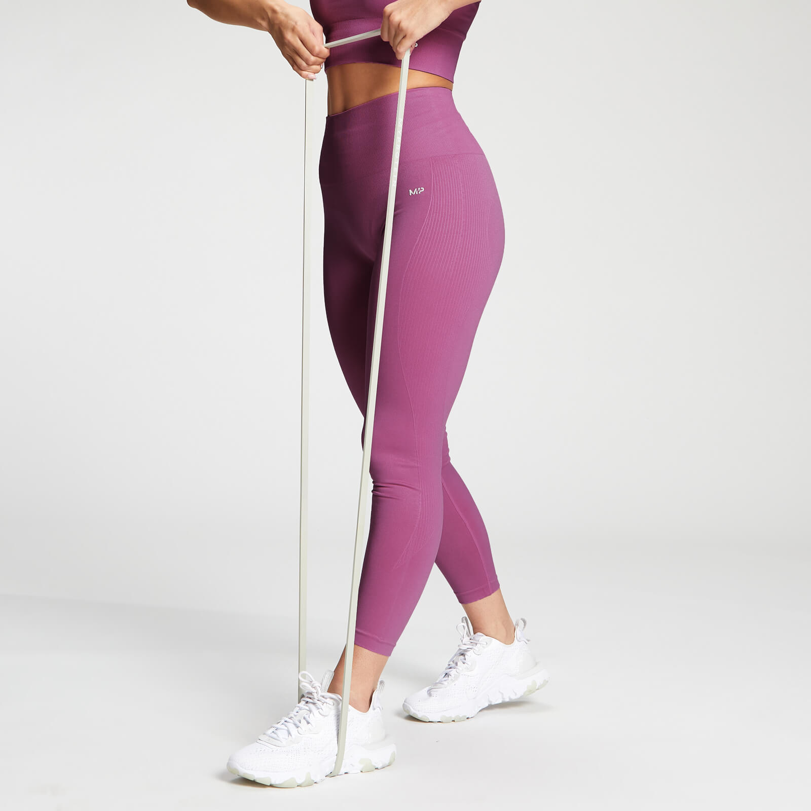 MP Women's Shape Seamless Ultra 7/8 Leggings - Orchid - XXS, Myprotein International  - купить со скидкой