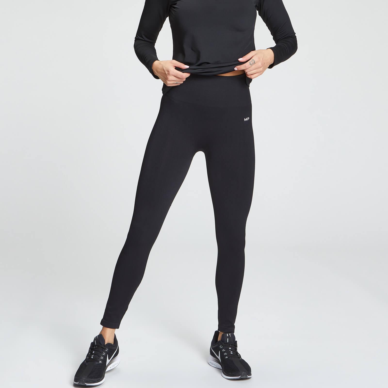 MP Women's Shape Seamless Ultra 7/8 Leggings - Black - M, Myprotein International  - купить со скидкой