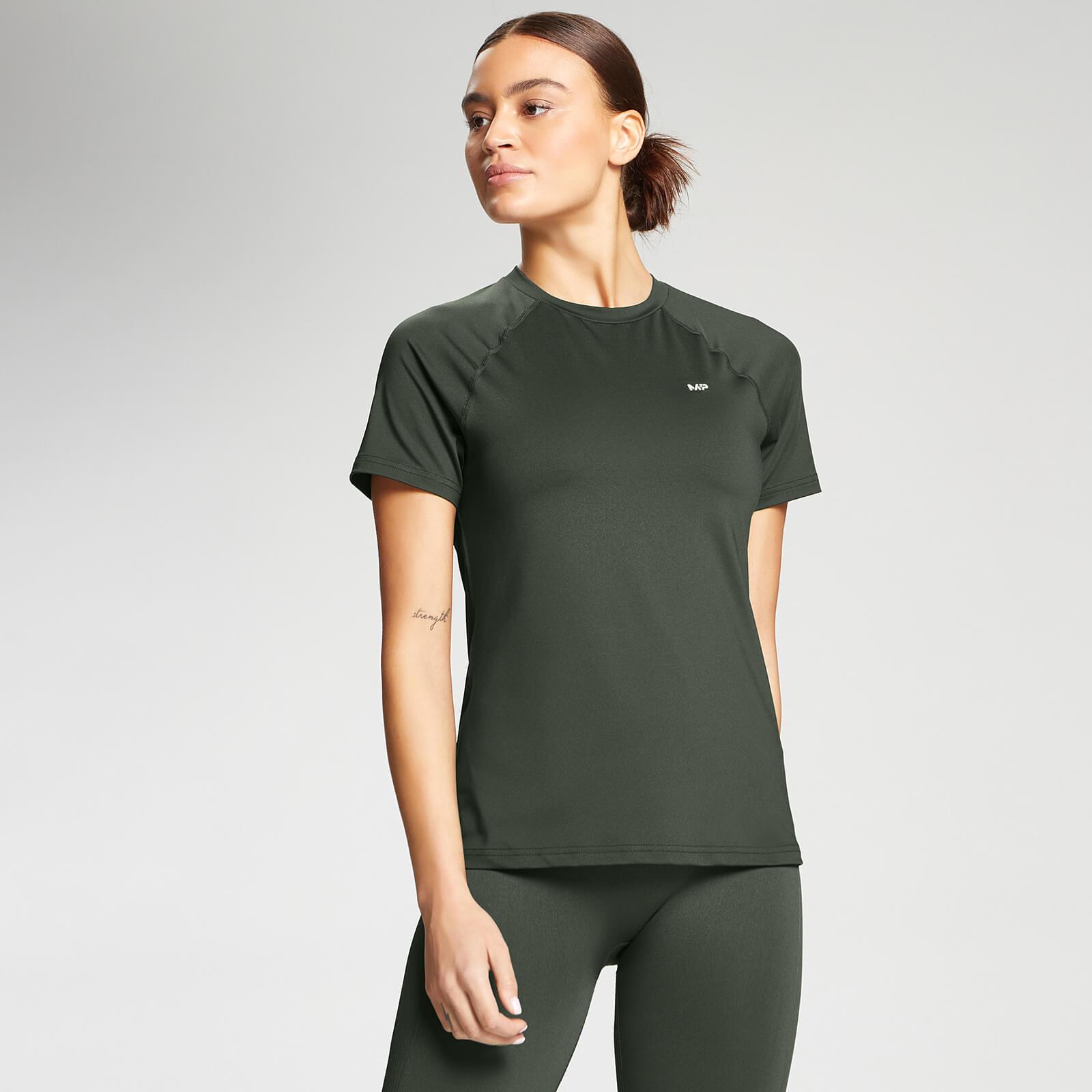 Купить MP Women's Essentials Training Slim Fit T-Shirt - Vine Leaf - XXS, Myprotein International