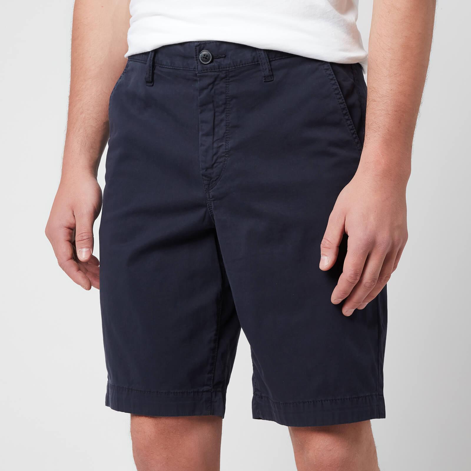 BOSS Casual Men's Schino Taber Shorts - Dark Blue - W30