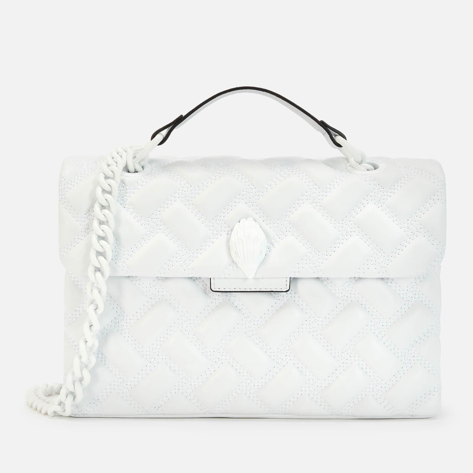 Kurt Geiger London Women's Kensington Drench Bag - White
