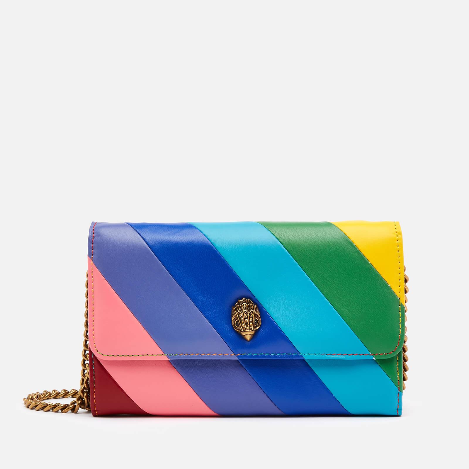 Kurt Geiger London Women's K Stripe Chain Wallet - Multi