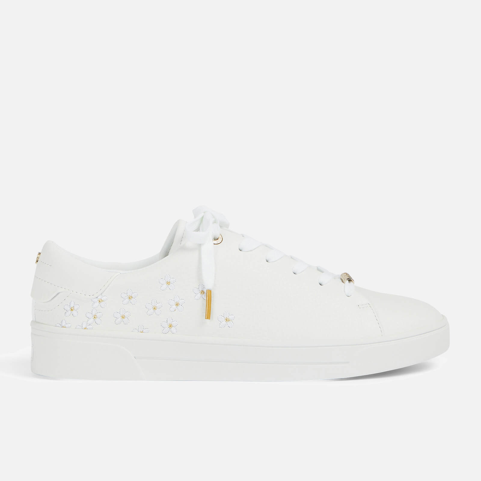 Ted Baker Women's Adial Cupsole Trainers - White - UK 3