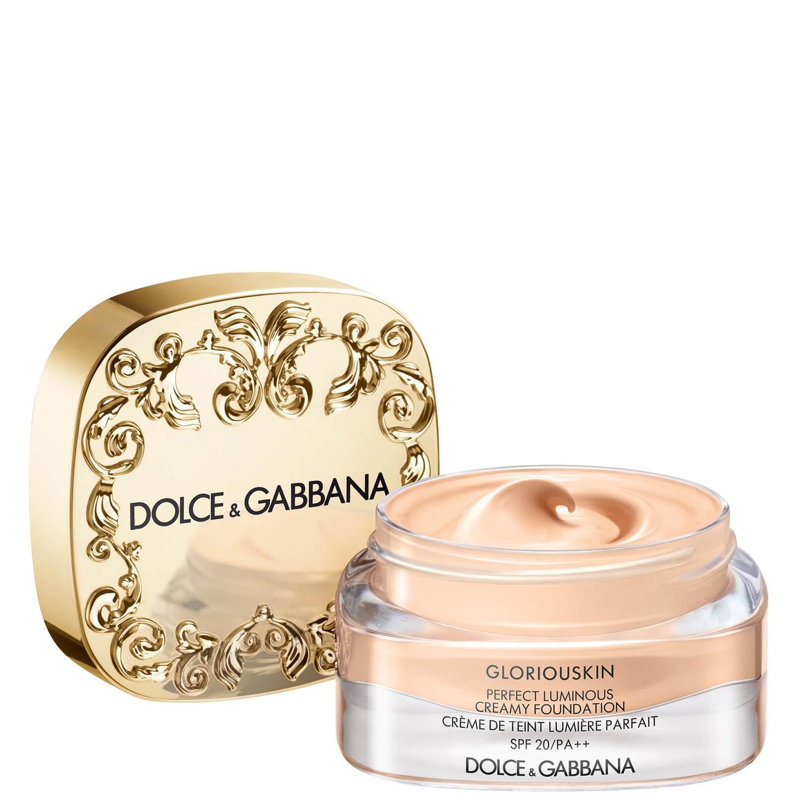 Dolce&Gabbana Gloriouskin Perfect Luminous Creamy Foundation 30ml (Various Shades) - Porcelain 100