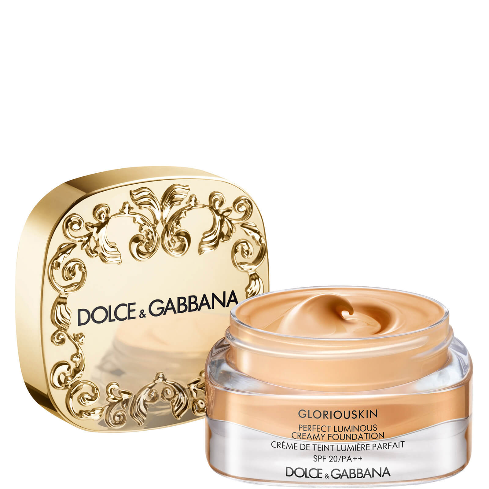 Dolce&Gabbana Gloriouskin Perfect Luminous Creamy Foundation 30ml (Various Shades) - Cashmere 200