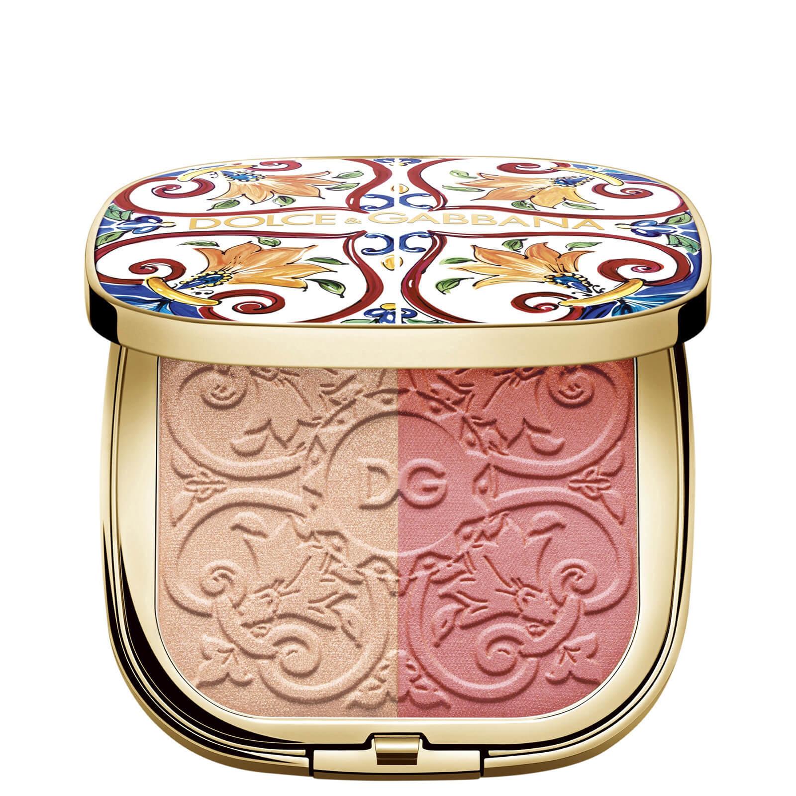 Купить Dolce&Gabbana Solar Glow Illuminating Duo - Peach Blossom 2