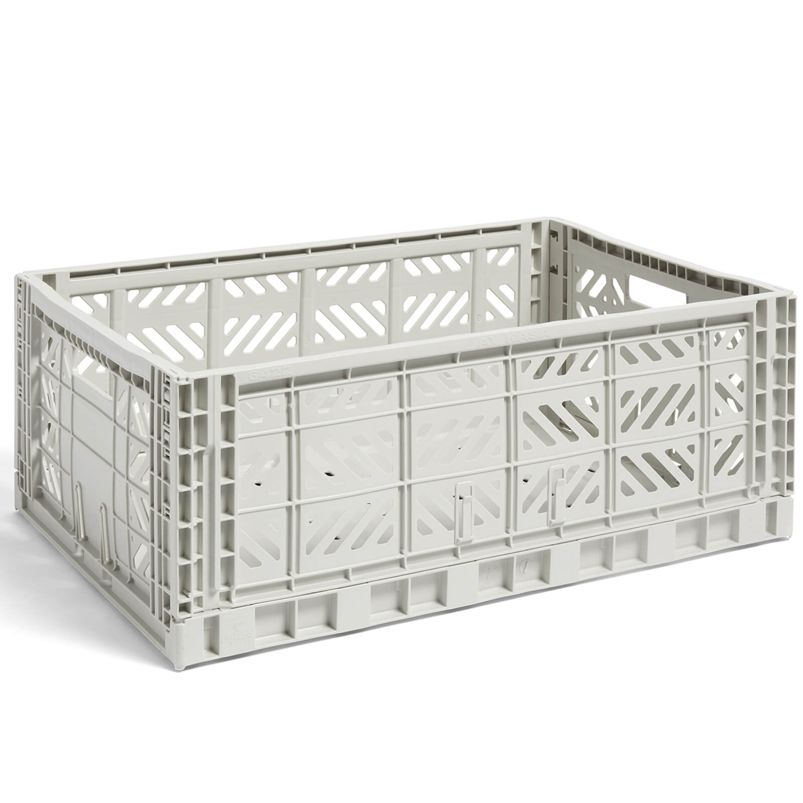 HAY HAY Colour Crate Light Grey - L