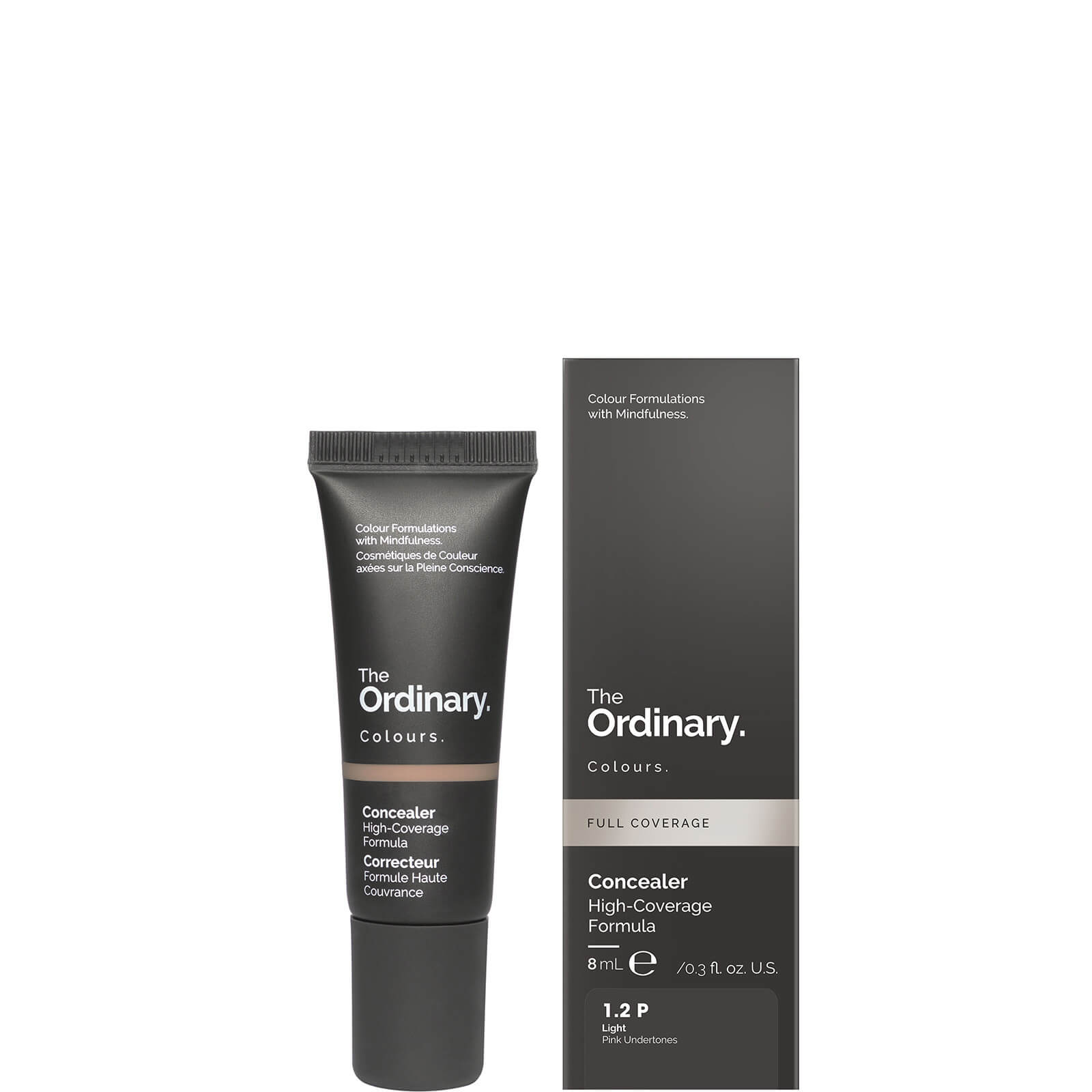 The Ordinary Concealer 8ml (Various Shades) - 1.2 P