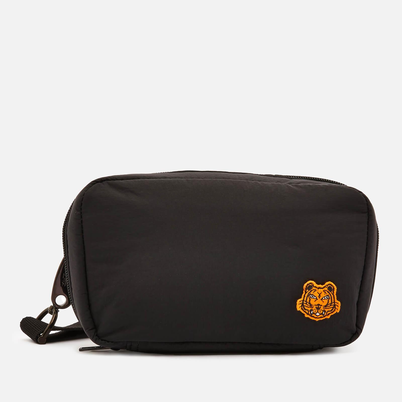 KENZO Nylon Shoulder Bag - Black