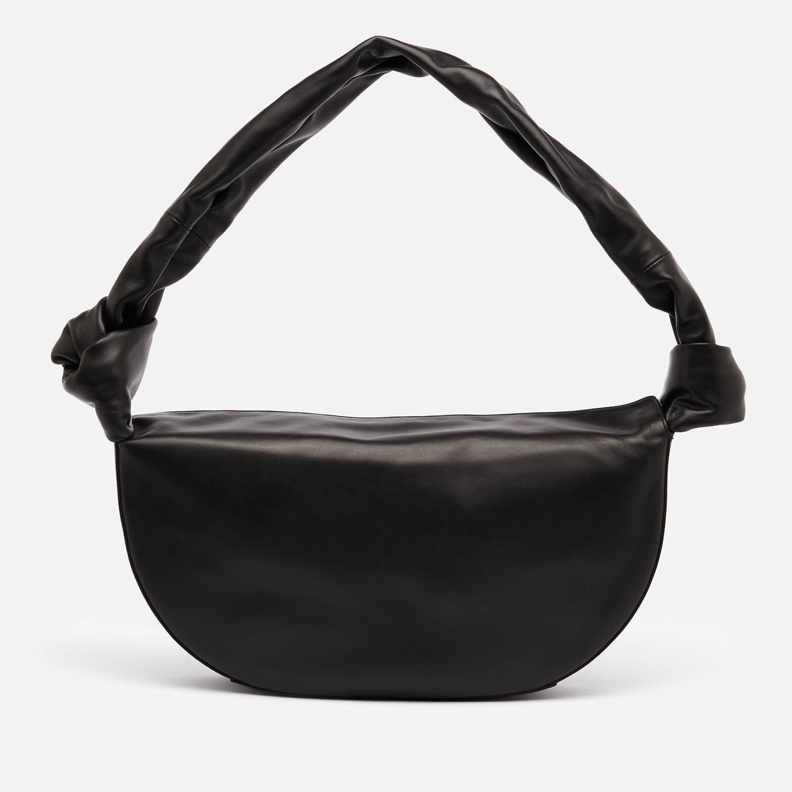 Little Liffner Women's Double Knot Banana Bag - Black