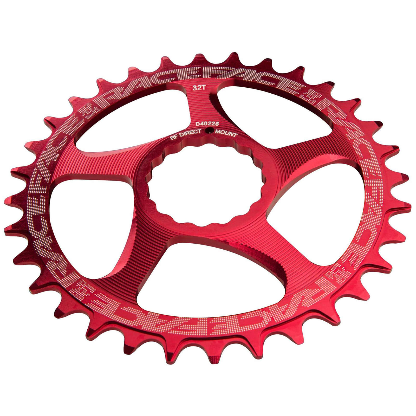 Race Face Direct Mount Narrow Wide 10/12 Speed Chainring - 26T - Rot