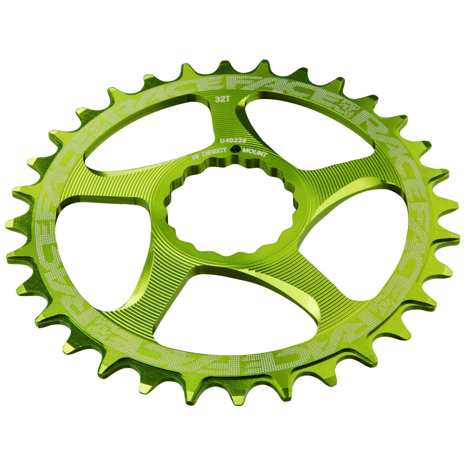 Race Face Direct Mount Narrow Wide 10/12 Speed Chainring - 26T - Green