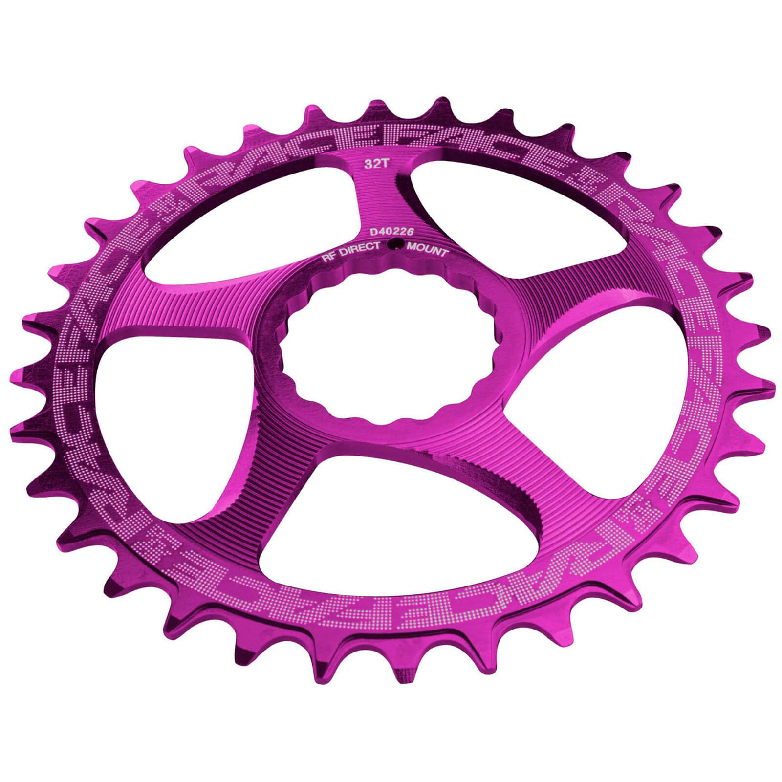 Race Face Direct Mount Narrow Wide 10/12 Speed Chainring - 26T - Purple