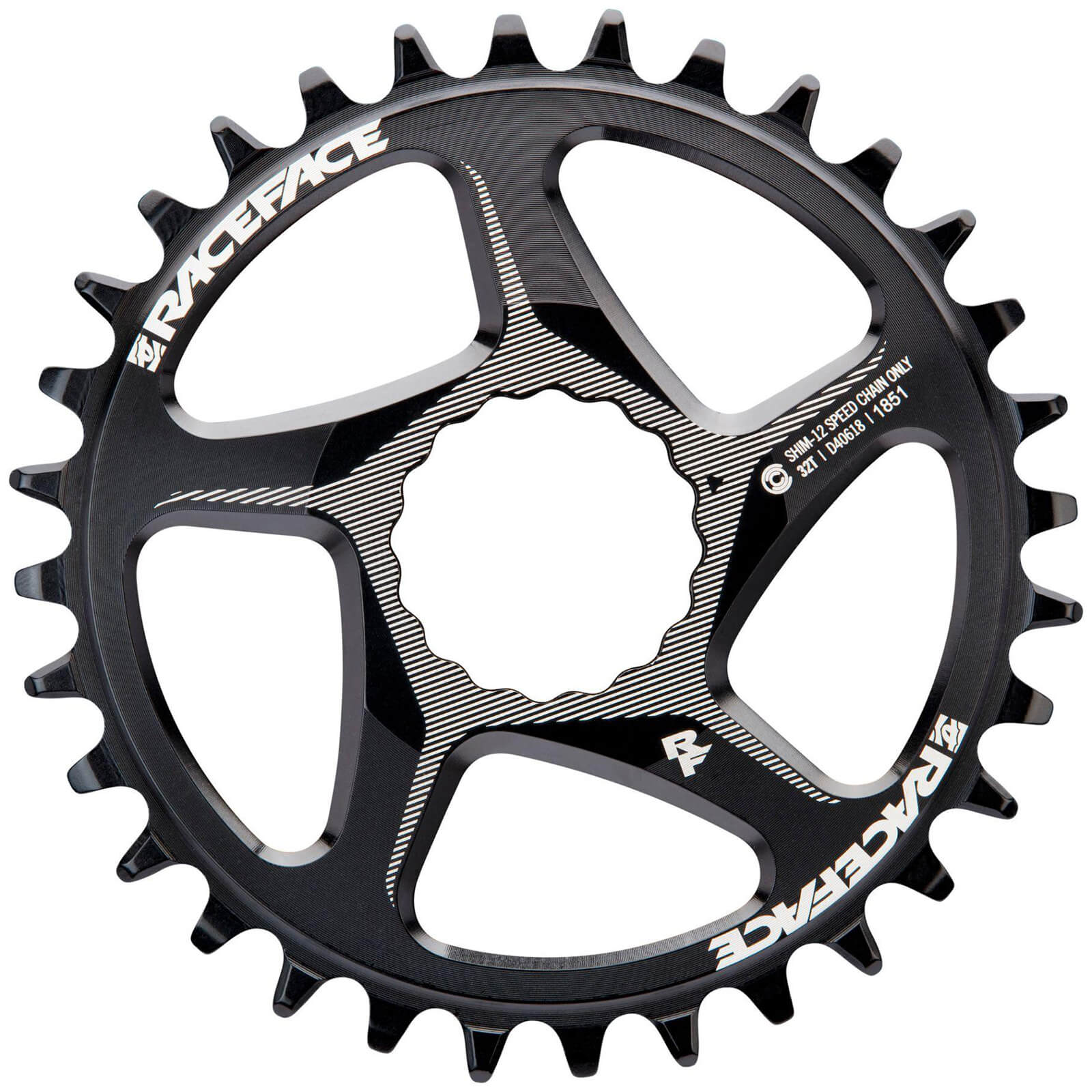 Race Face Direct Mount Narrow Wide 12 Speed Shimano Chainring - 32T