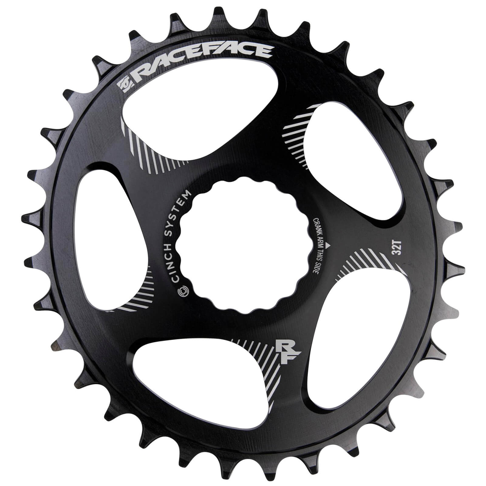 Race Face Direct Mount Narrow Wide Oval 10/12 Speed Chainring - Black - 30T