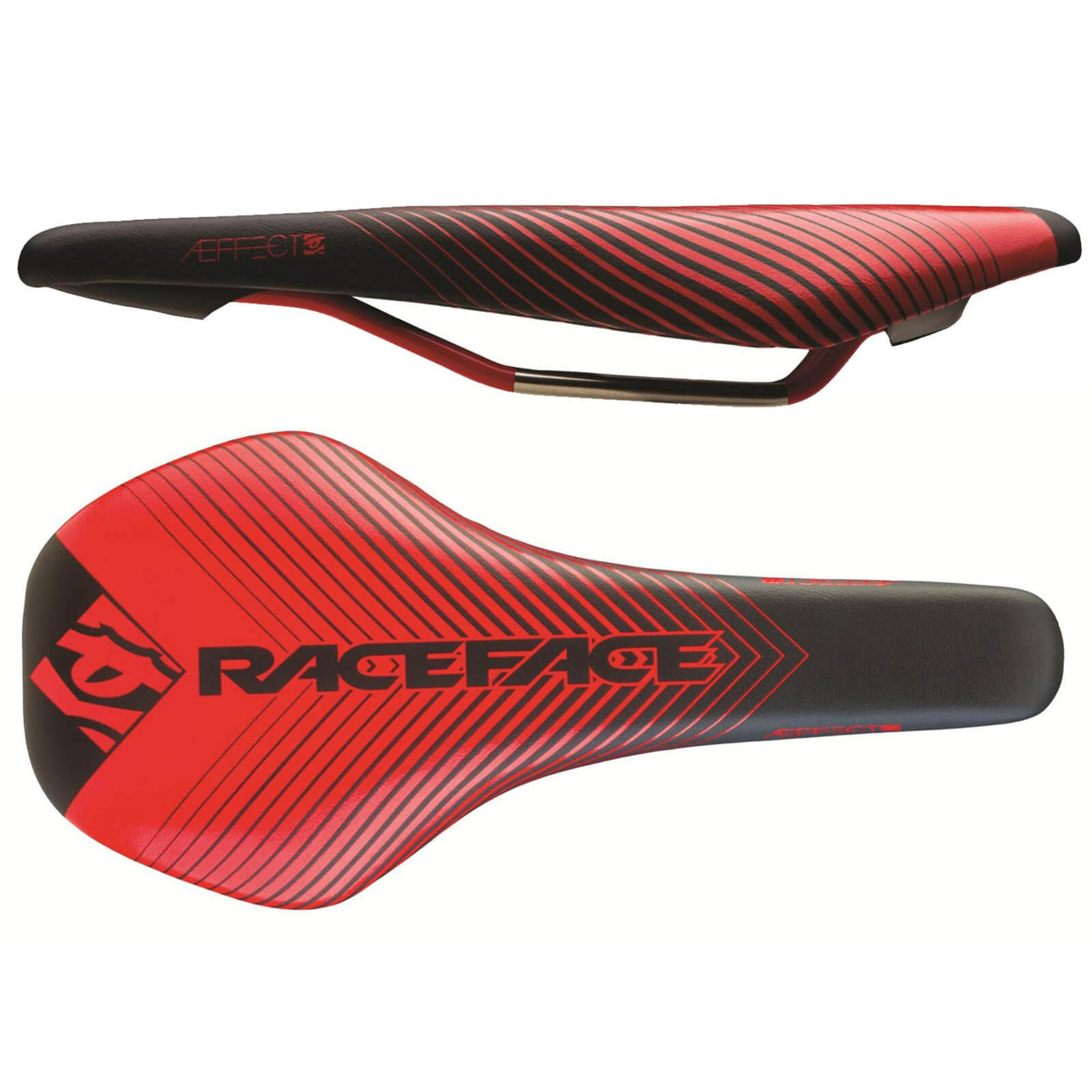 Race Face Aeffect MTB Saddle - Rot