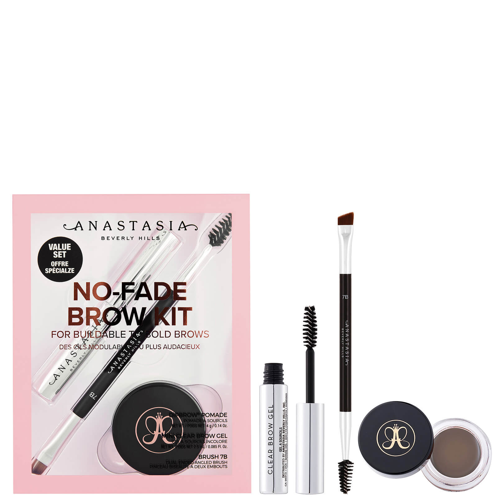 Anastasia Beverly Hills No-Fade Brow Kit 9.5g (Various Shades) - Taupe