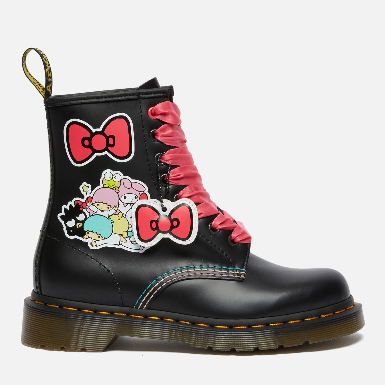 Dr. Martens X Hello Kitty Women's 1460 Leather Boots - Black - Uk 3