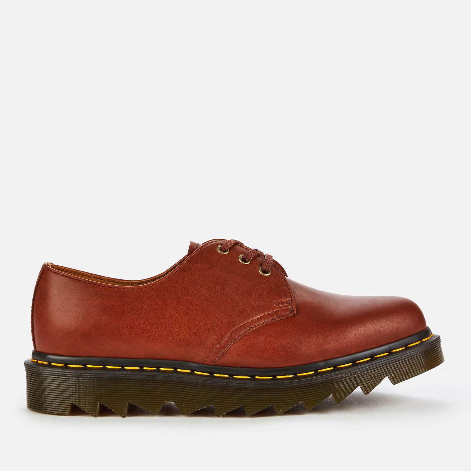 Dr. Martens Men's 1461 Ziggy Leather 3-Eye Shoes - Tan - UK 7
