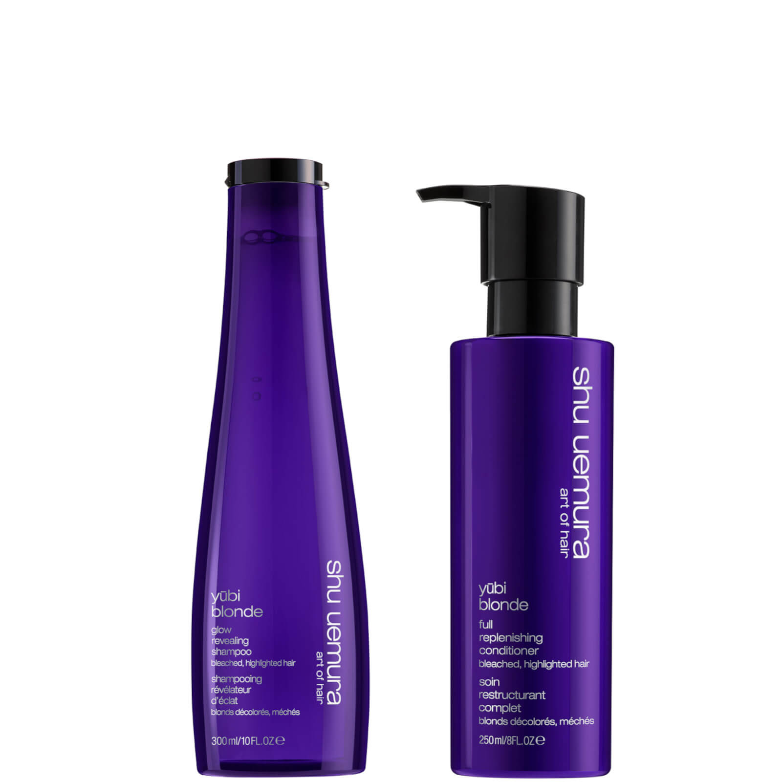 Shu Uemura Art of Hair Yubi Blonde Neutralise and Nourish Duo