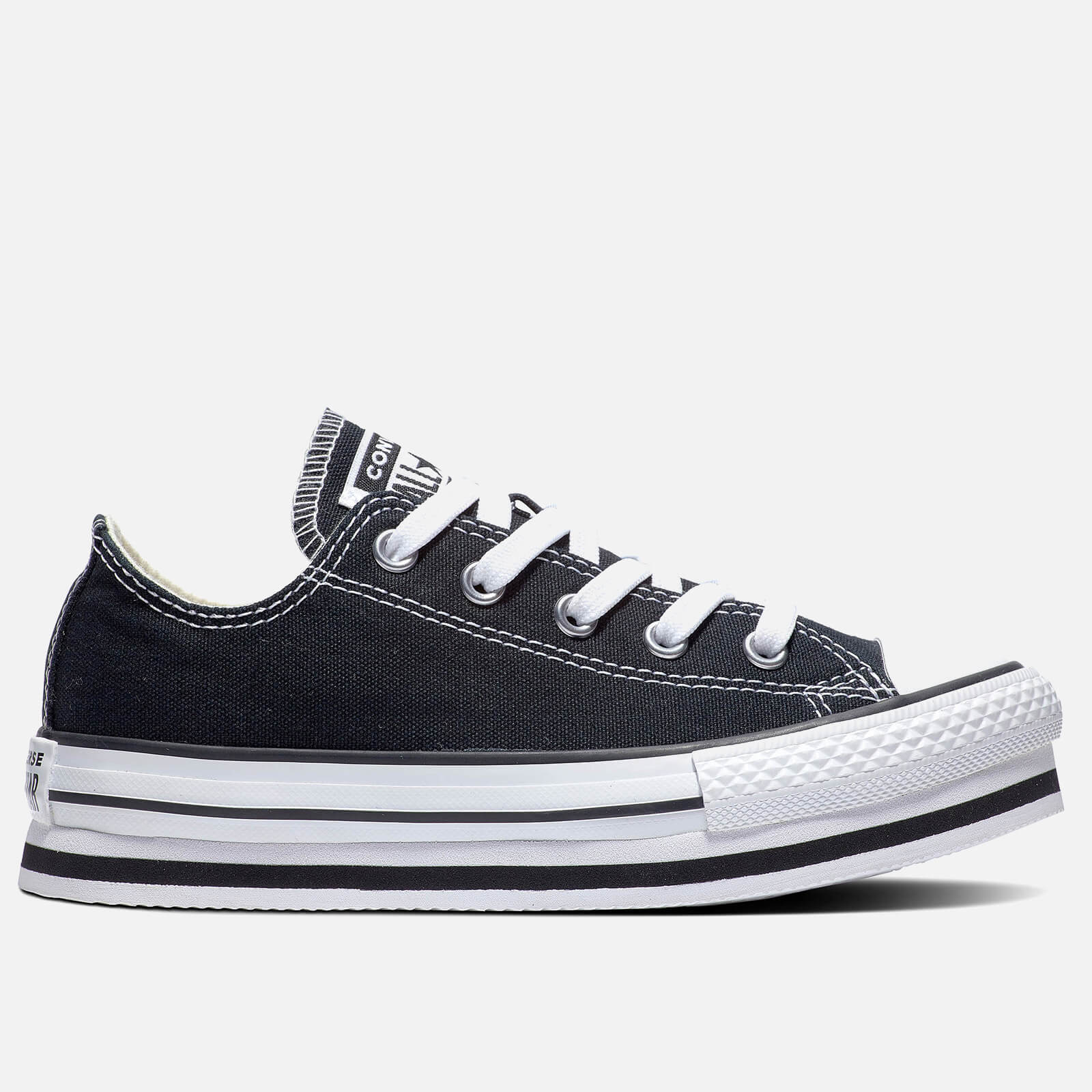 Click to view product details and reviews for Converse Kids Chuck Taylor All Star Eva Lift Ox Trainers Black Uk 12 Kids.