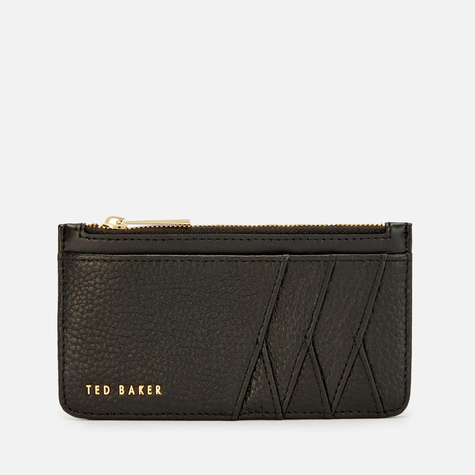 Ted Baker Women's Gerii Diagonal Zipped Credit Card Holder - Black
