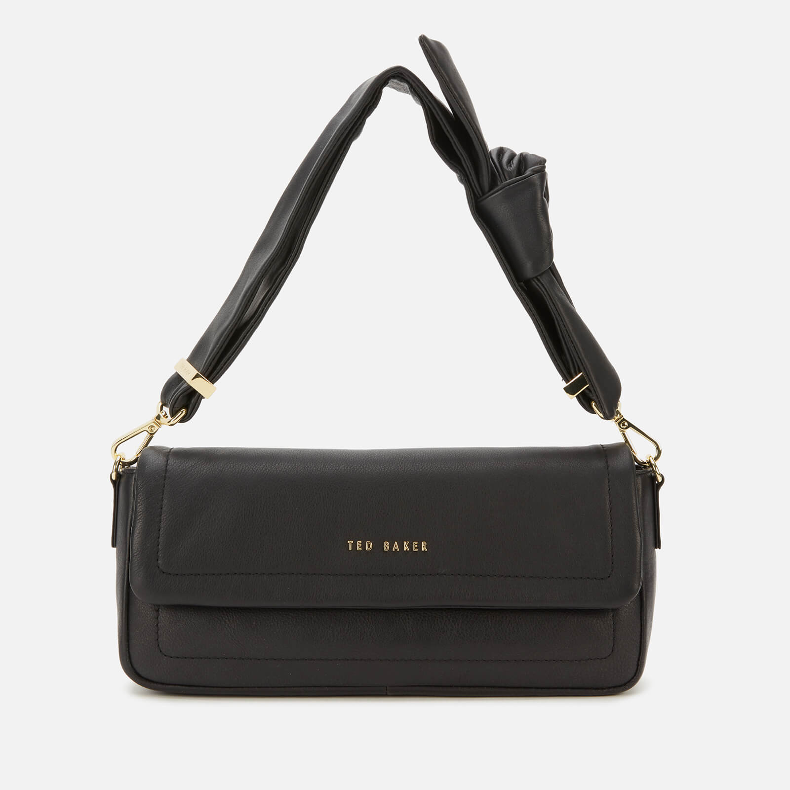 ted baker women's sinitaa shoulder bag - black