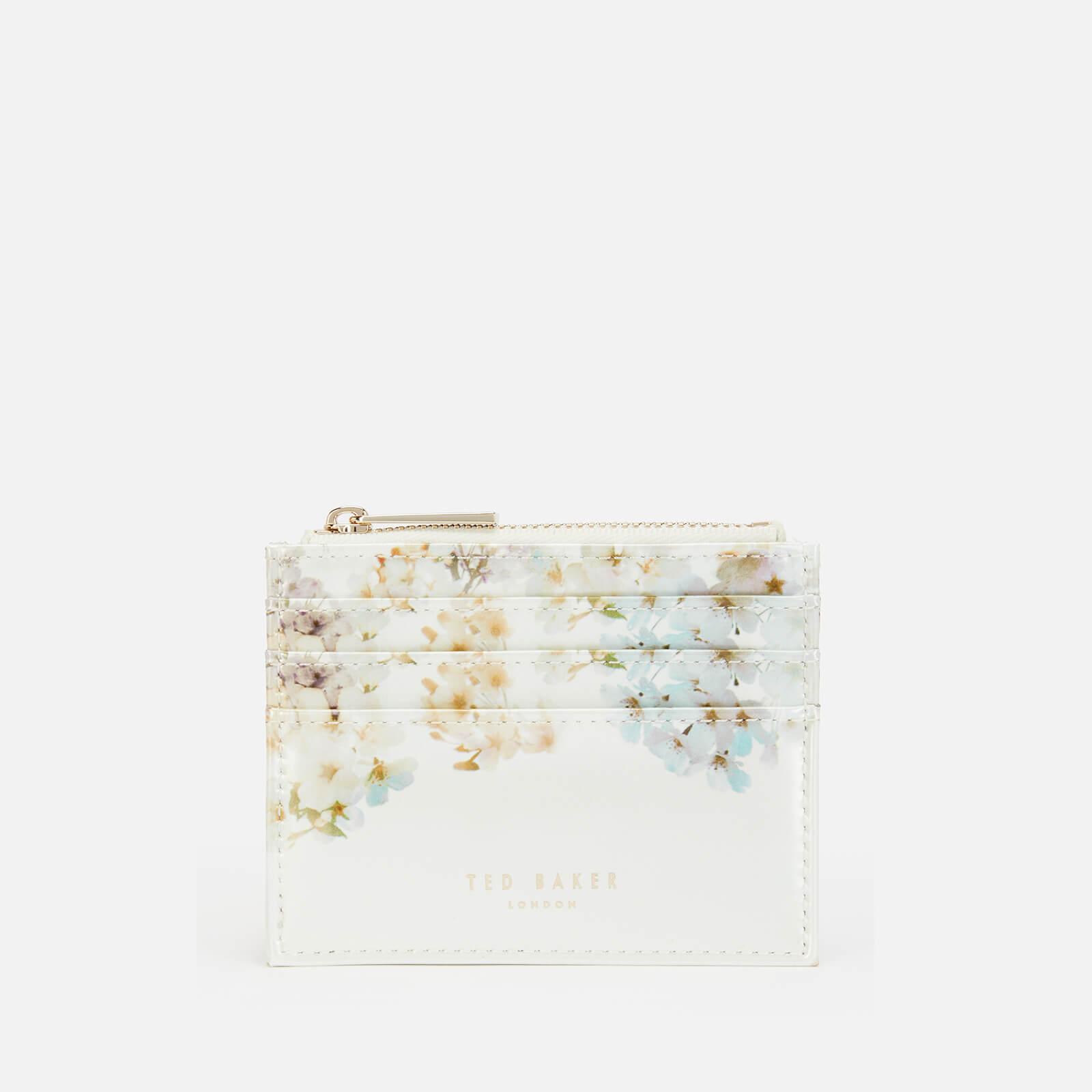 ted baker women's jjenie card holder - ivory