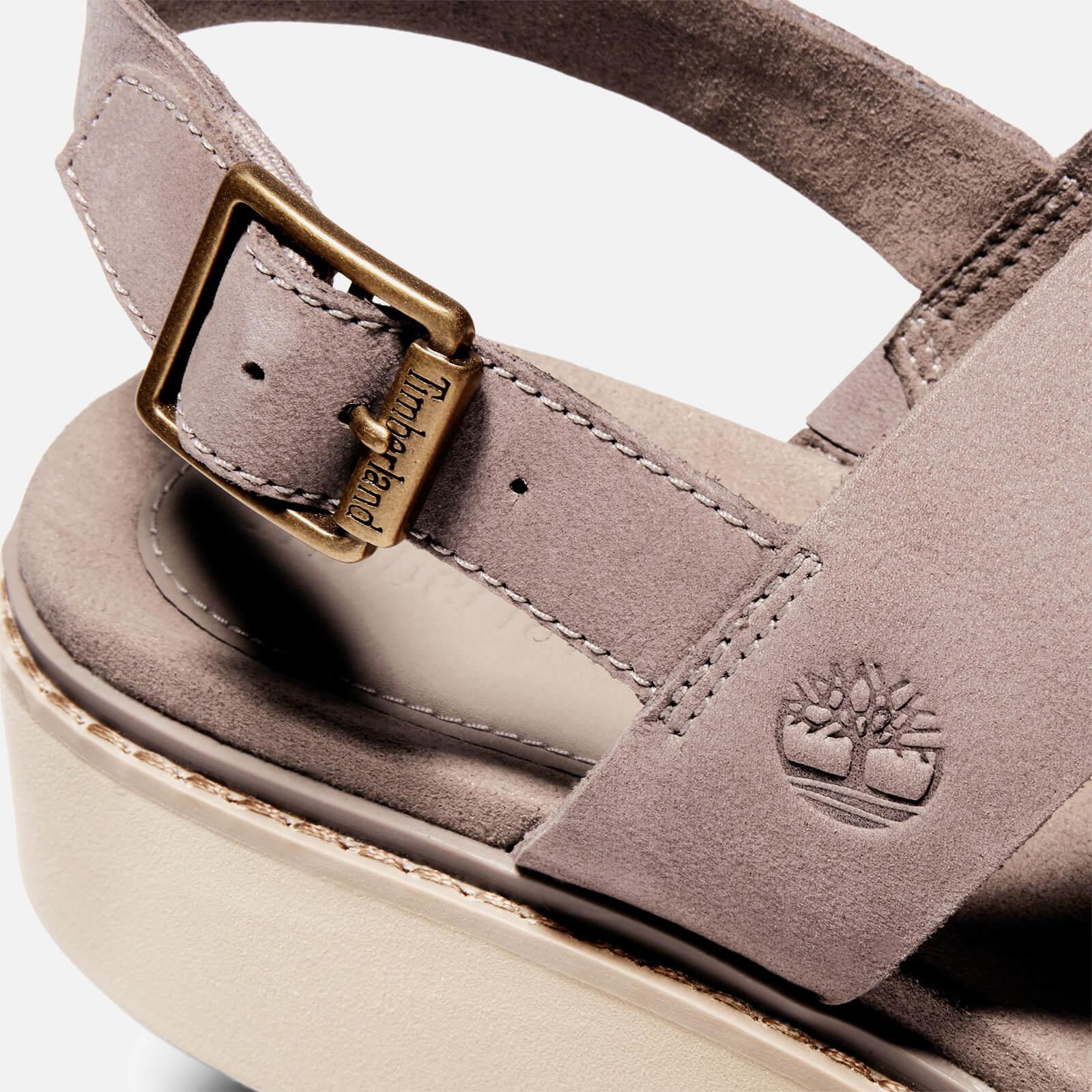 Timberland Women's Safari Dawn Flatform Sandals - Taupe - Uk 3.5