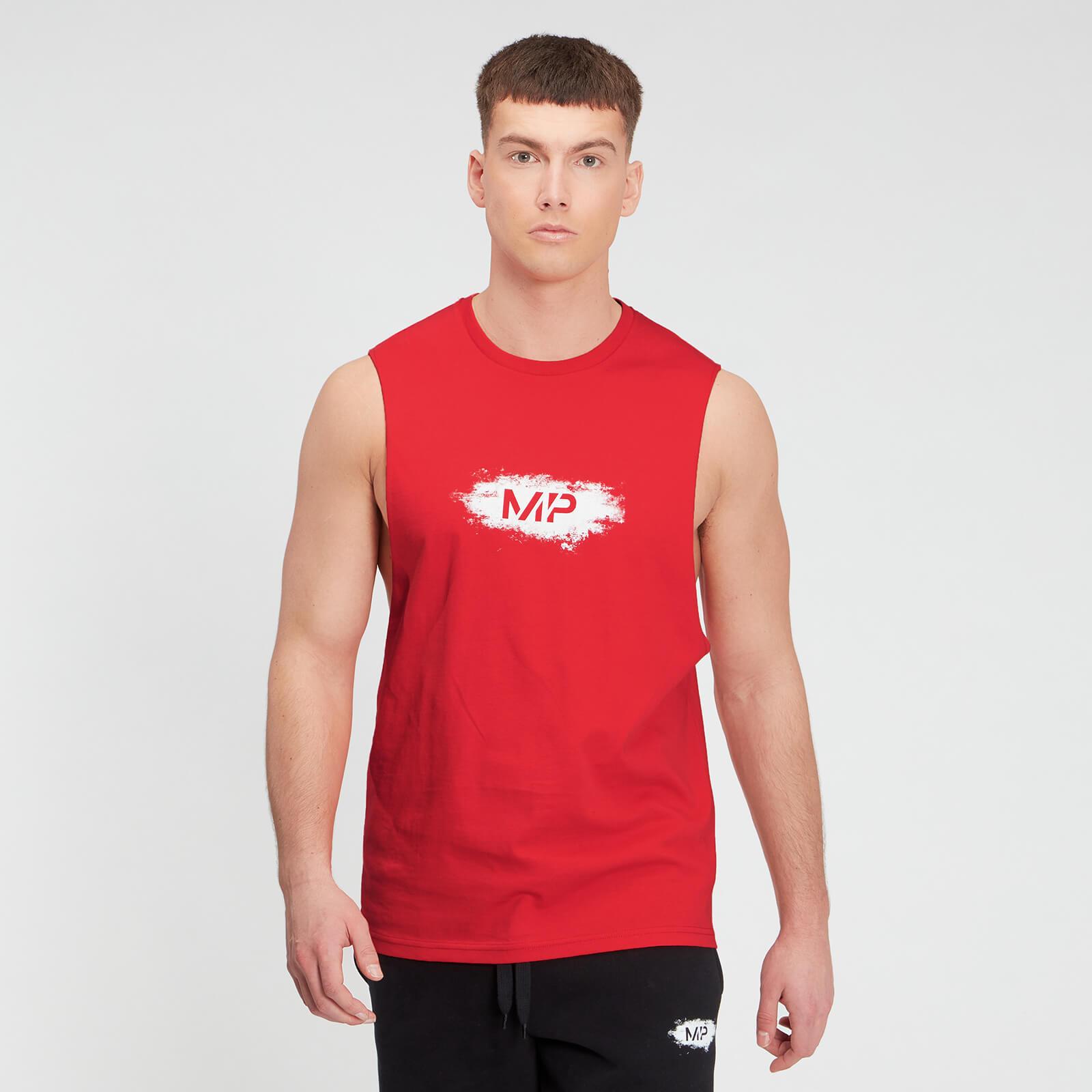 MP Men's Chalk Graphic Tank Top - Danger - XXL