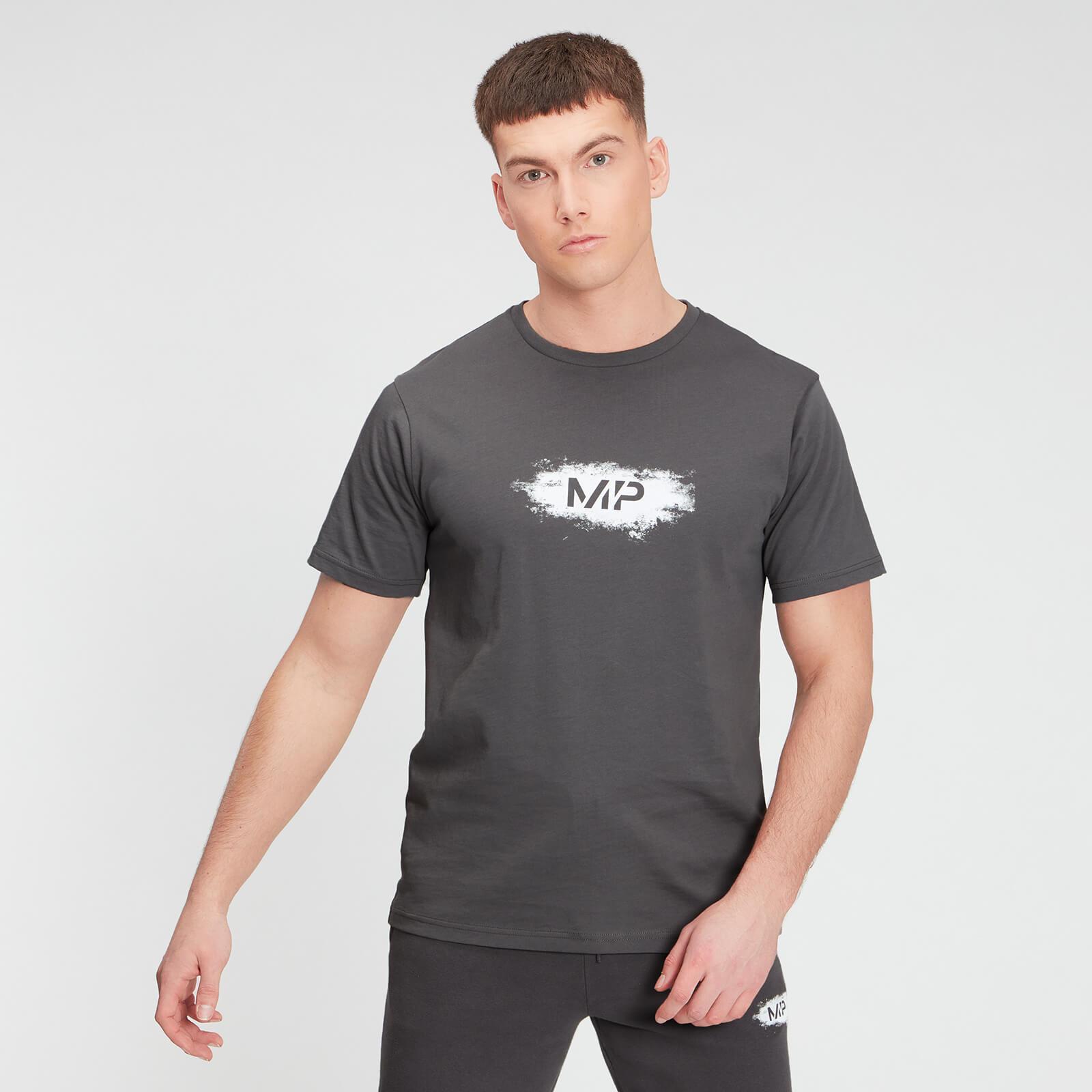 Купить MP Men's Chalk Graphic Short Sleeve T-Shirt - Carbon - XXS, Myprotein International