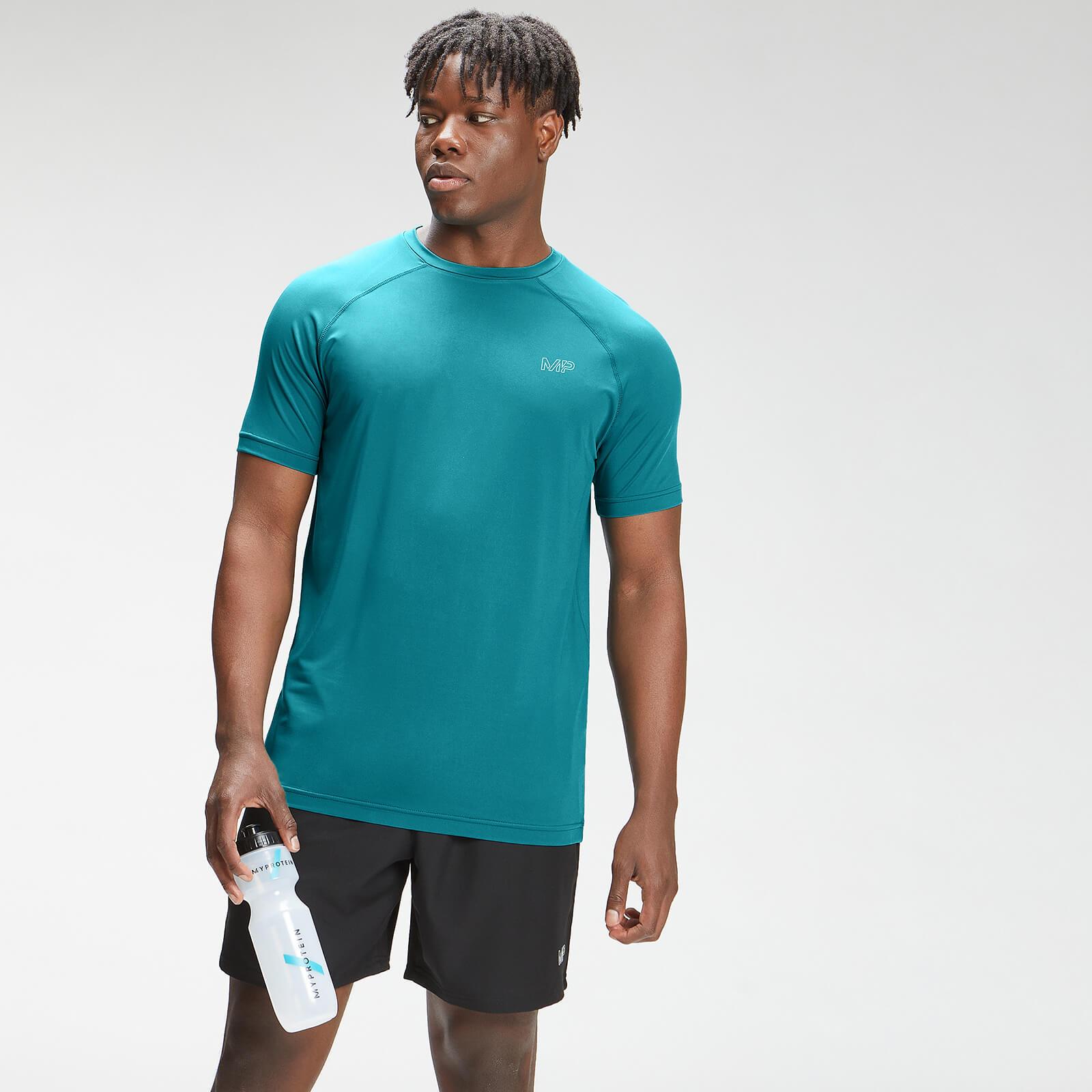 Купить MP Men's Repeat Mark Graphic Training Short Sleeve T-Shirt - Teal - XL, Myprotein International