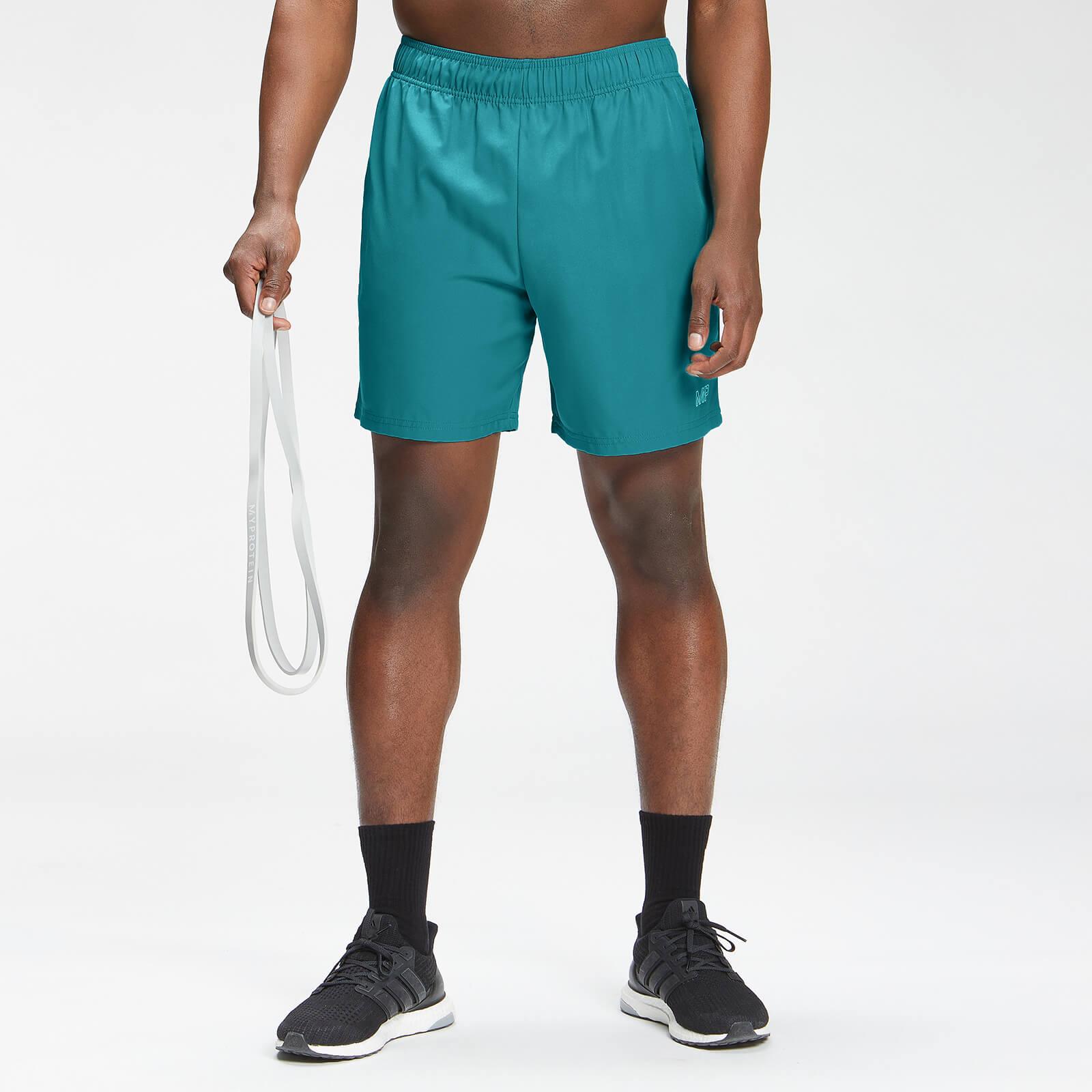 Купить MP Men's Repeat Mark Graphic Training Shorts - Teal - XXS, Myprotein International