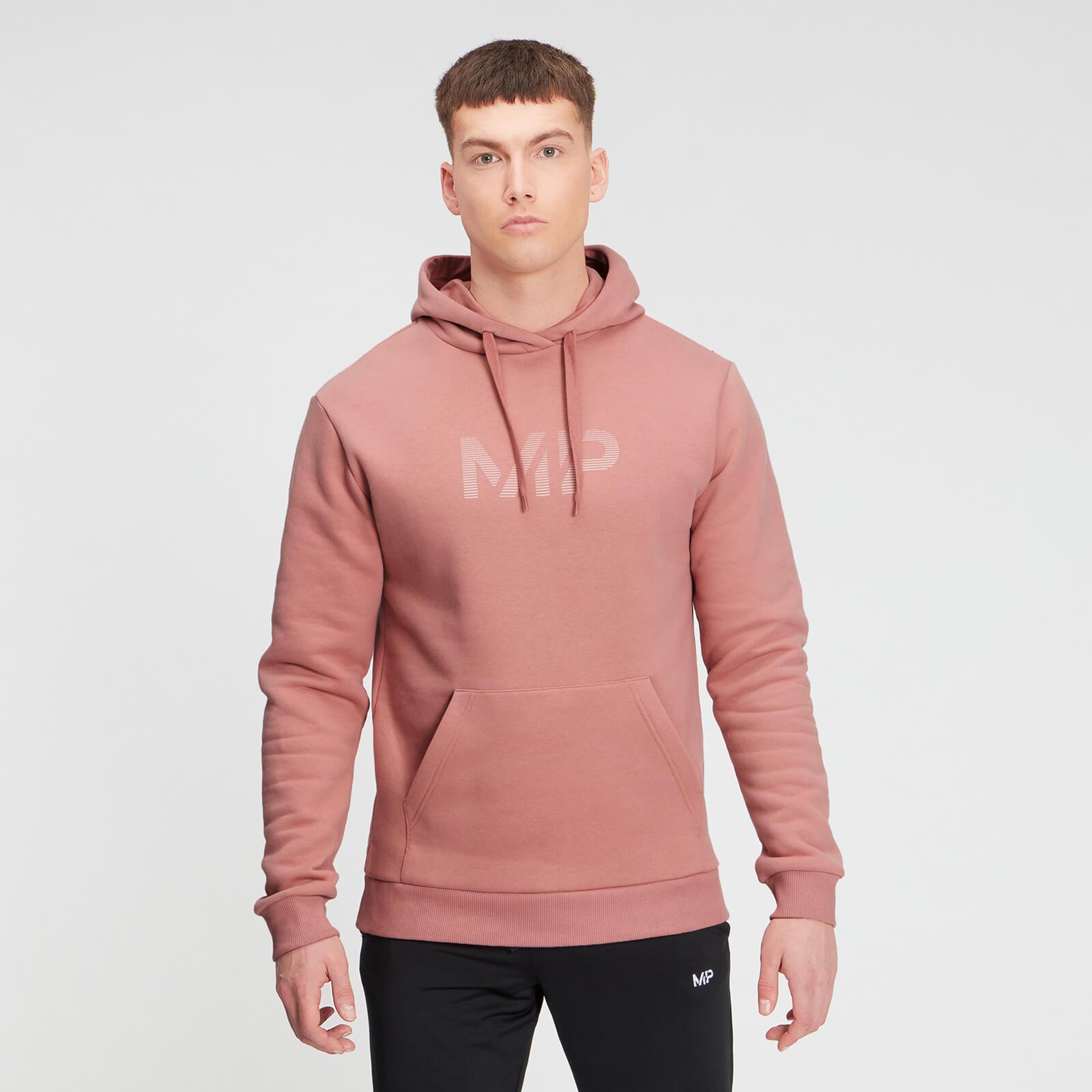 MP Men's Gradient Line Graphic Hoodie - Washed Pink - XXL, Myprotein International  - купить со скидкой