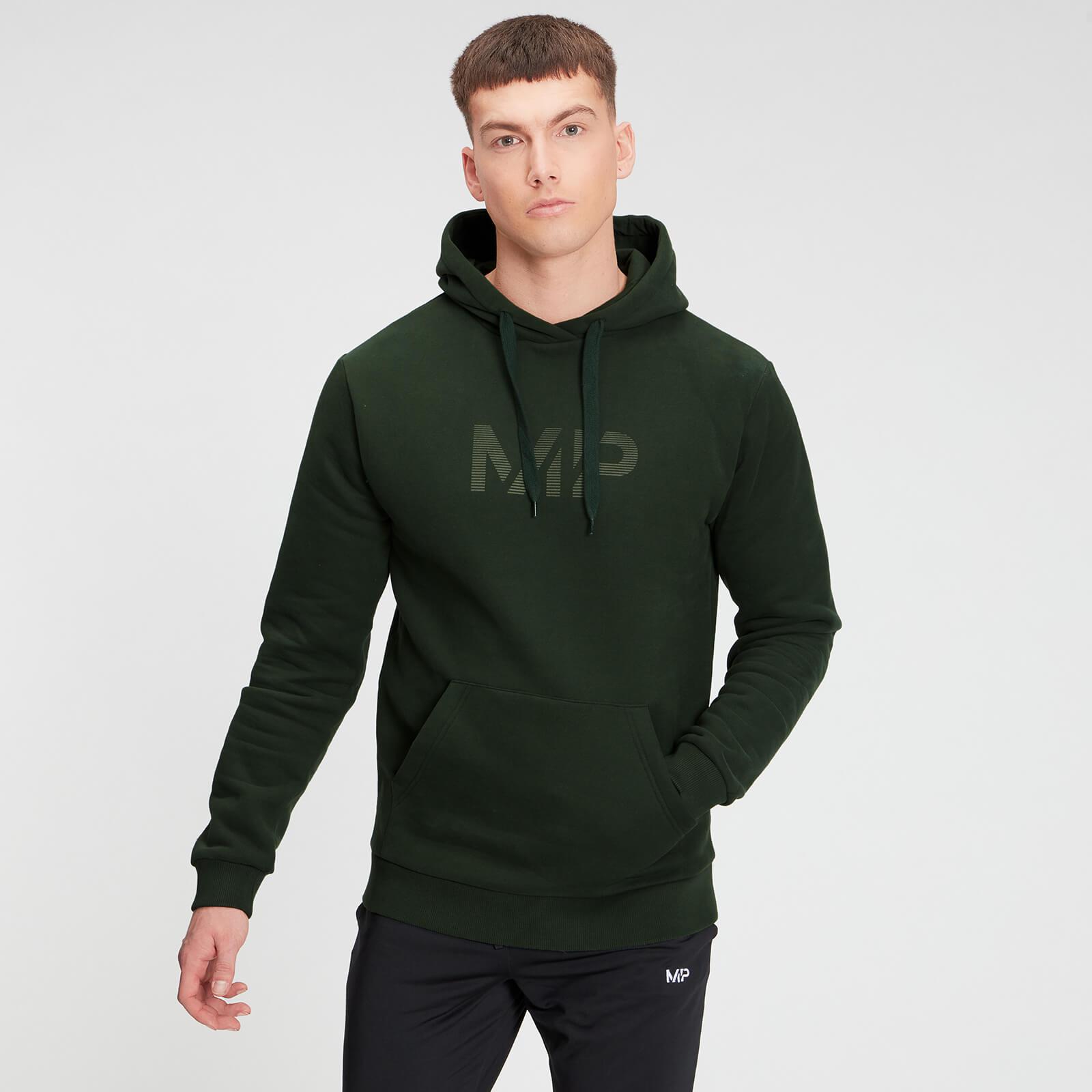 Купить MP Men's Gradient Line Graphic Hoodie - Dark Green - XXXL, Myprotein International