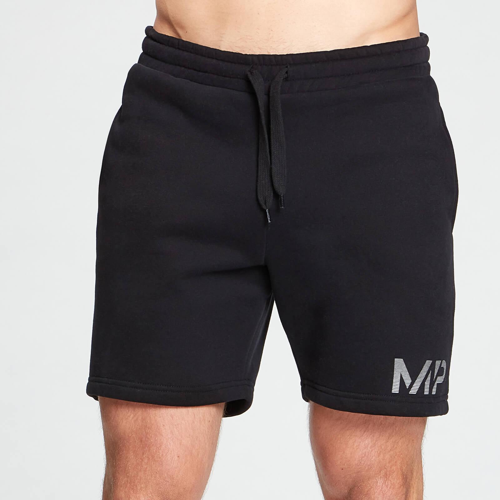 Купить MP Men's Gradient Line Graphic Shorts - Black - XXL, Myprotein International