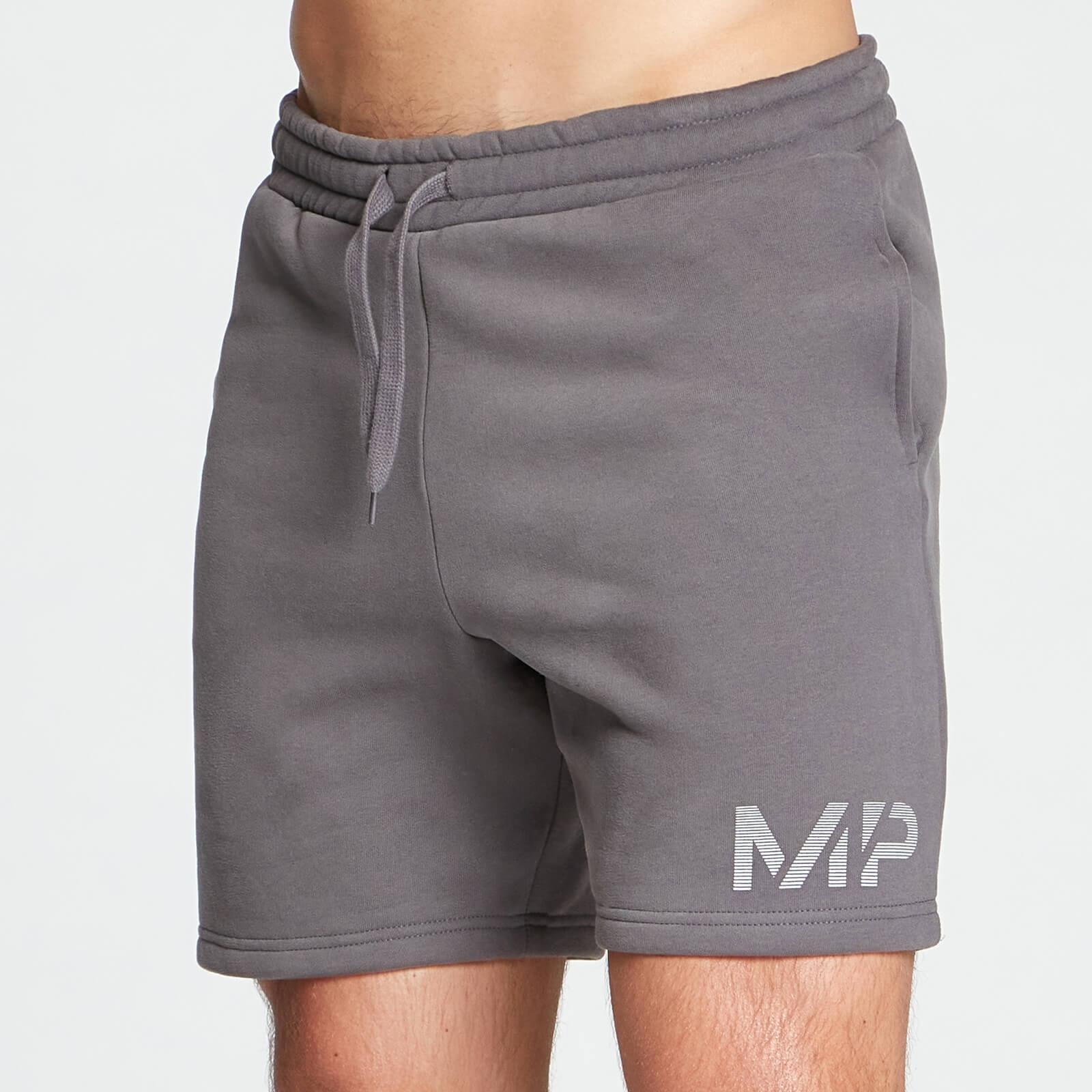 Купить MP Men's Gradient Line Graphic Shorts - Carbon - XXS, Myprotein International