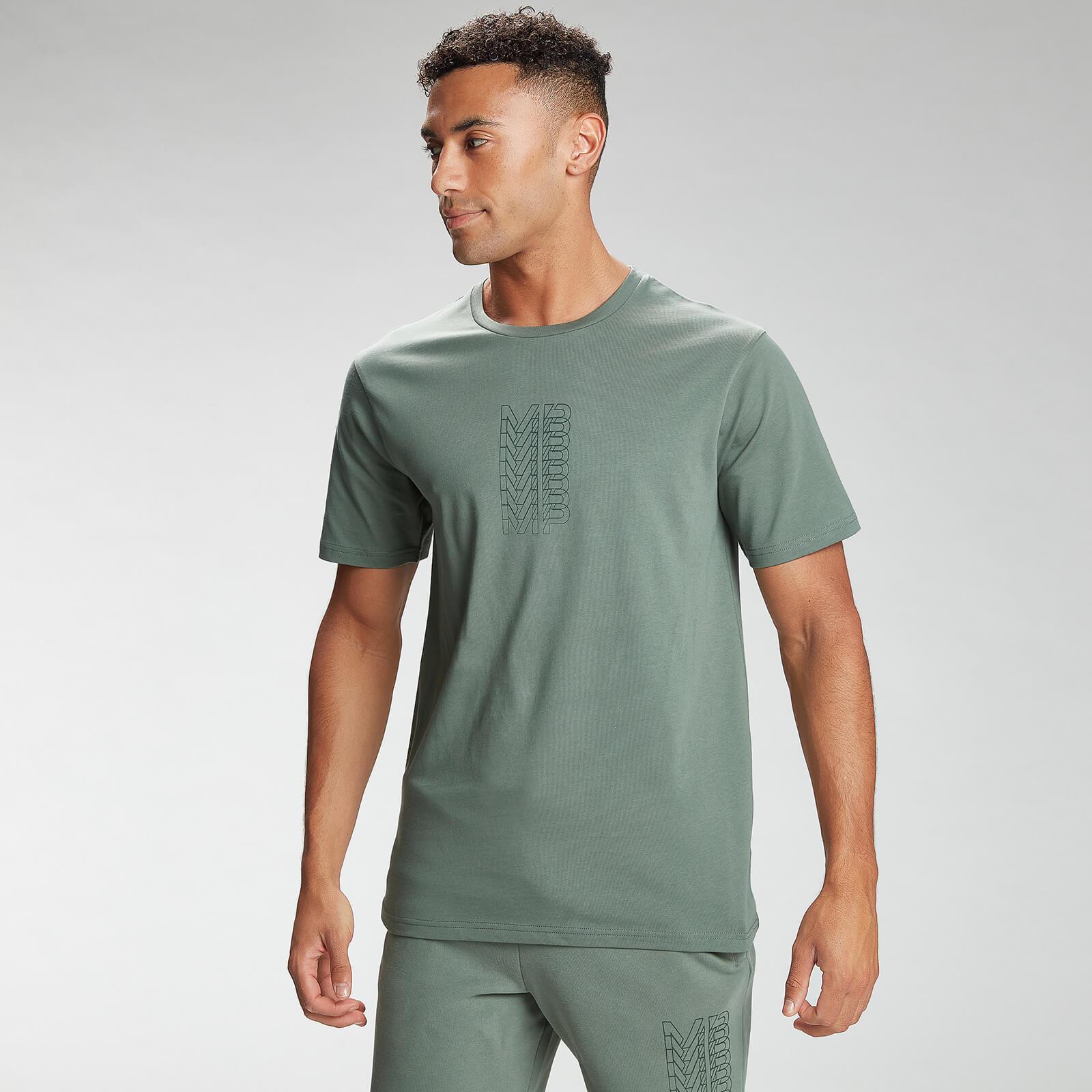 Купить MP Men's Repeat MP Graphic Short Sleeve T-Shirt - Cactus - XL, Myprotein International