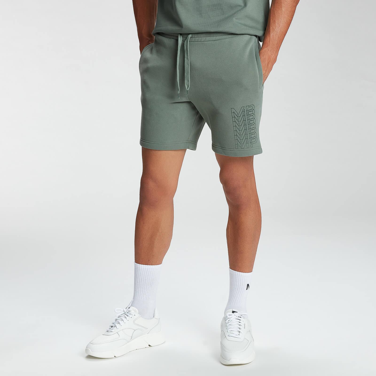 Купить MP Men's Repeat MP Graphic Shorts - Cactus - XL, Myprotein International
