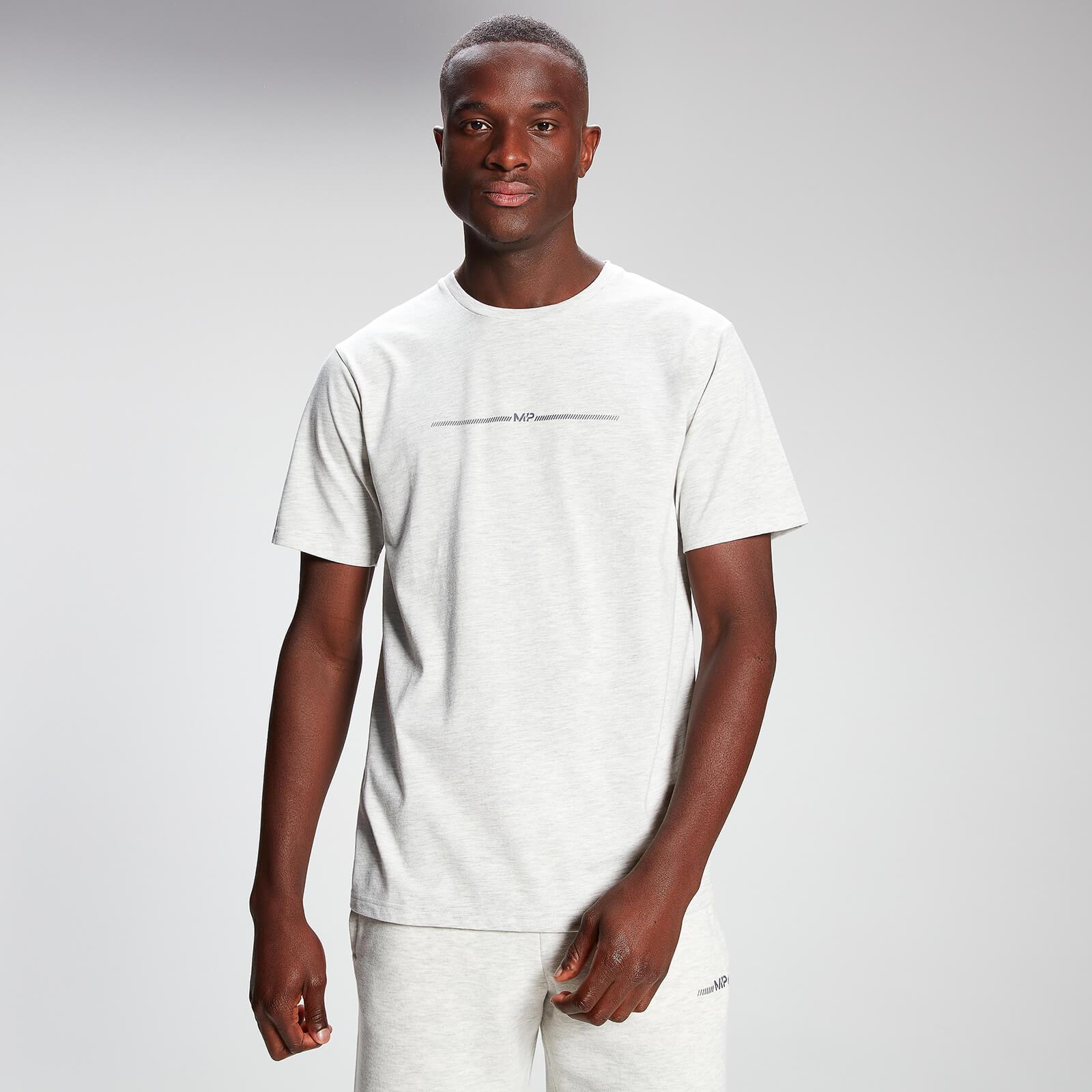 Купить MP Men's Mini Mark Graphic Short Sleeve T-Shirt - Light Grey Marl - XL, Myprotein International