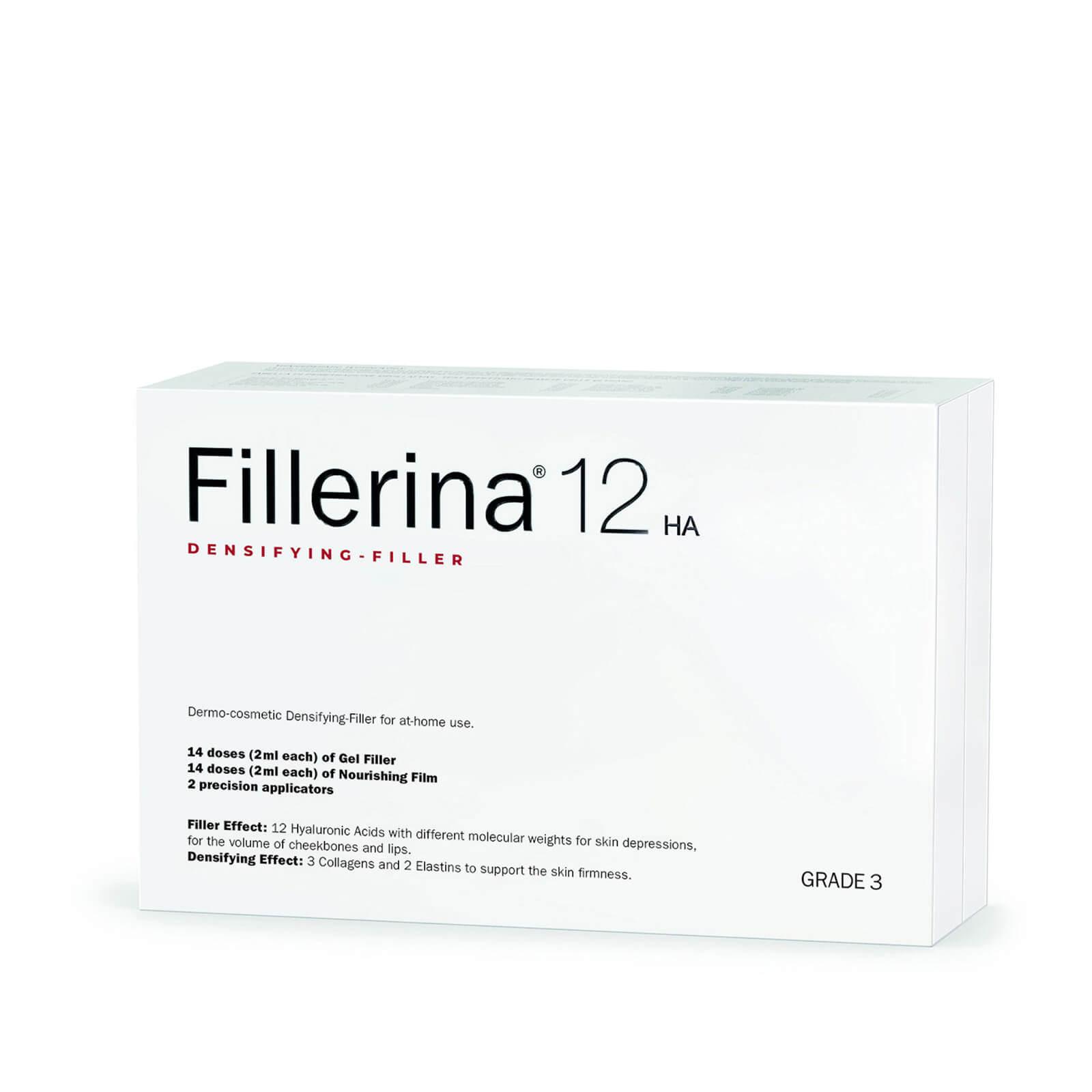 Image of Fillerina 12 Densifying-Filler Intensive Filler Treatment - Grade 3 2 x 30ml