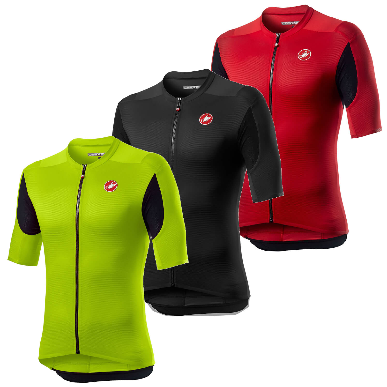 Castelli Superleggera 2 Jersey - M - Light Black