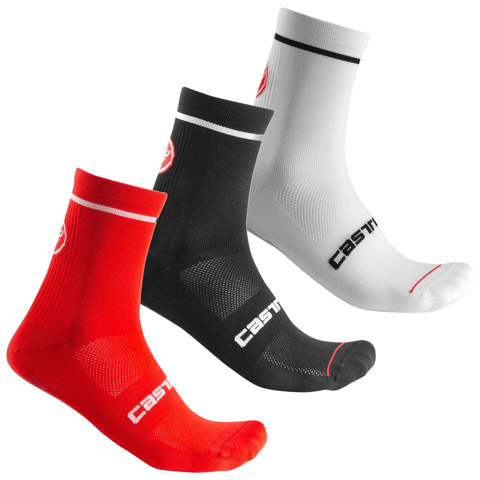 Castelli Entrata 9 Socks - L/XL - Schwarz