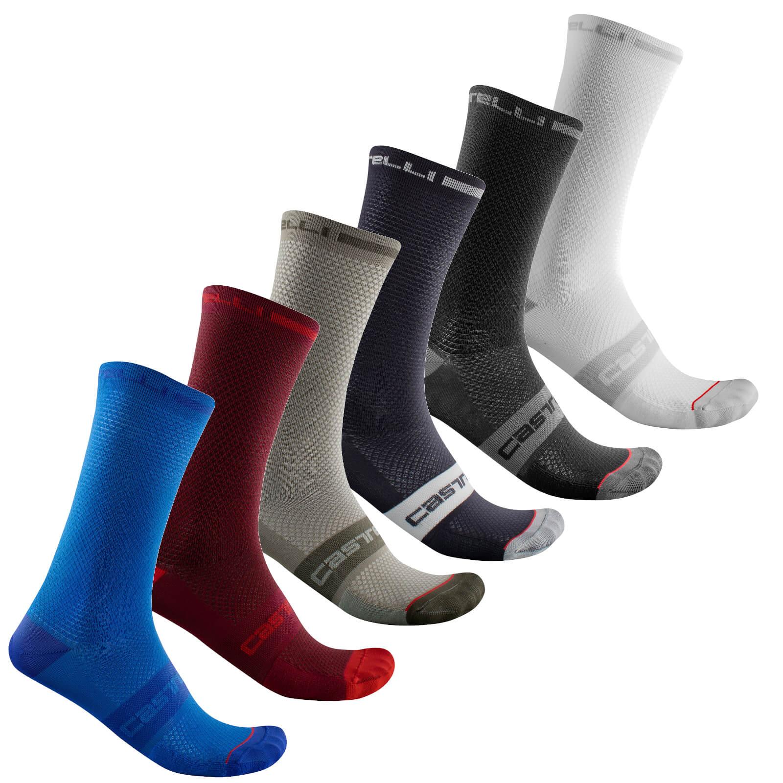 Castelli Superleggera T 18 Socks - L/XL - Schwarz