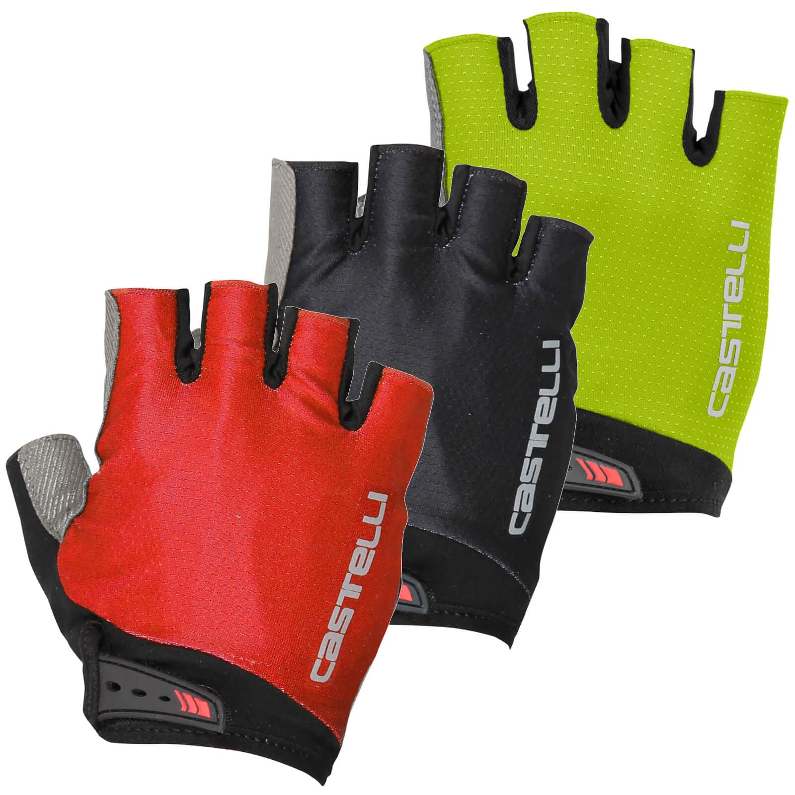 Castelli Entrata V Gloves - S - Light Black