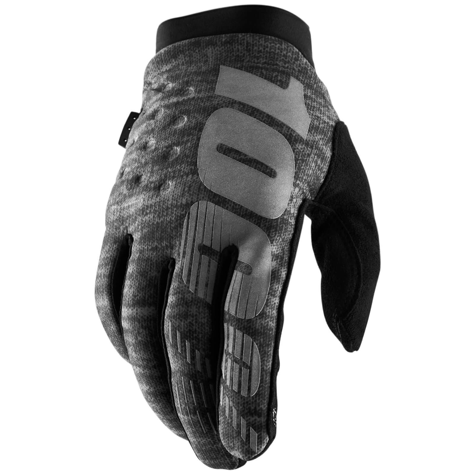 Image of 100% Brisker MTB Gloves - S - Grey