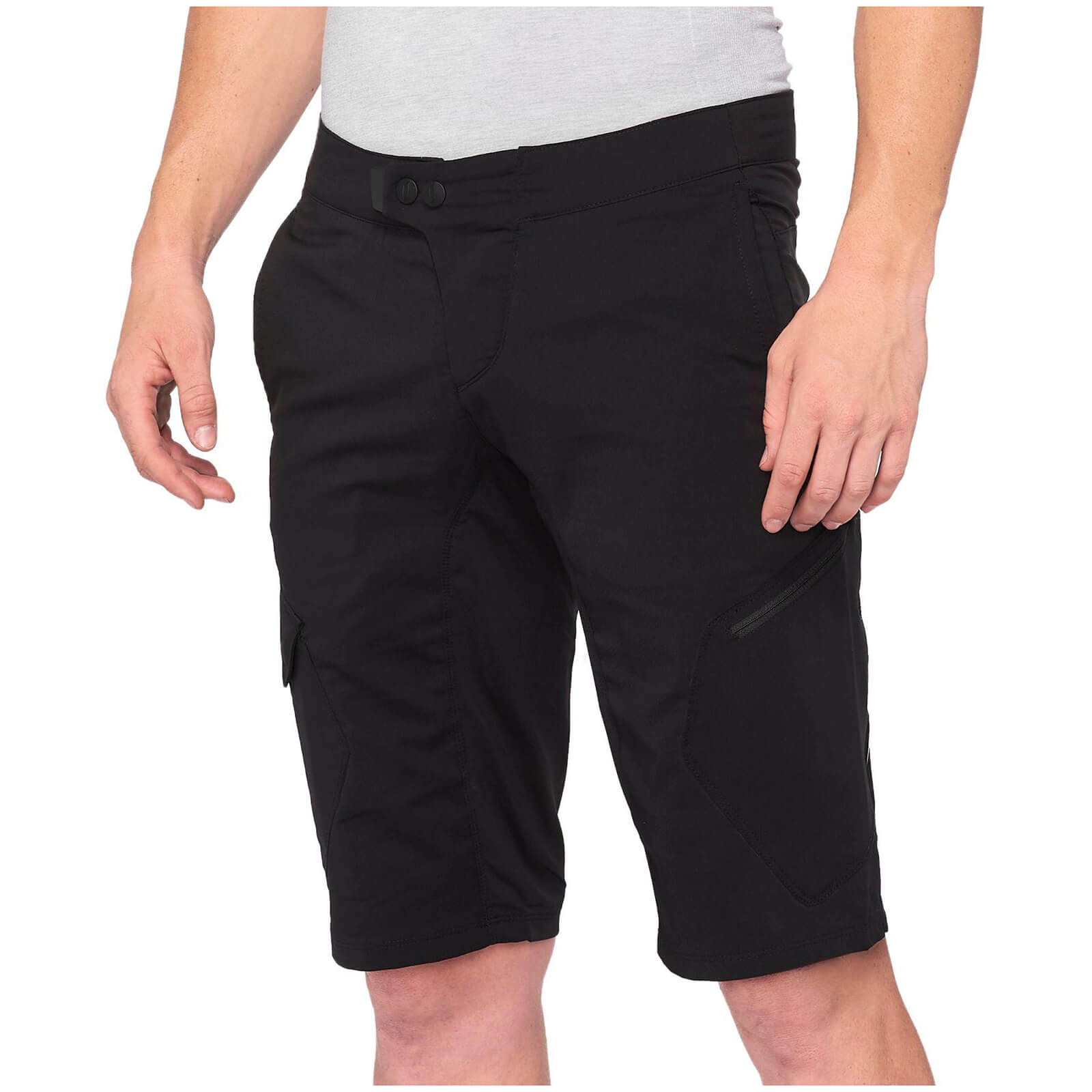 100% Ridecamp Mtb Shorts - 36 - Black