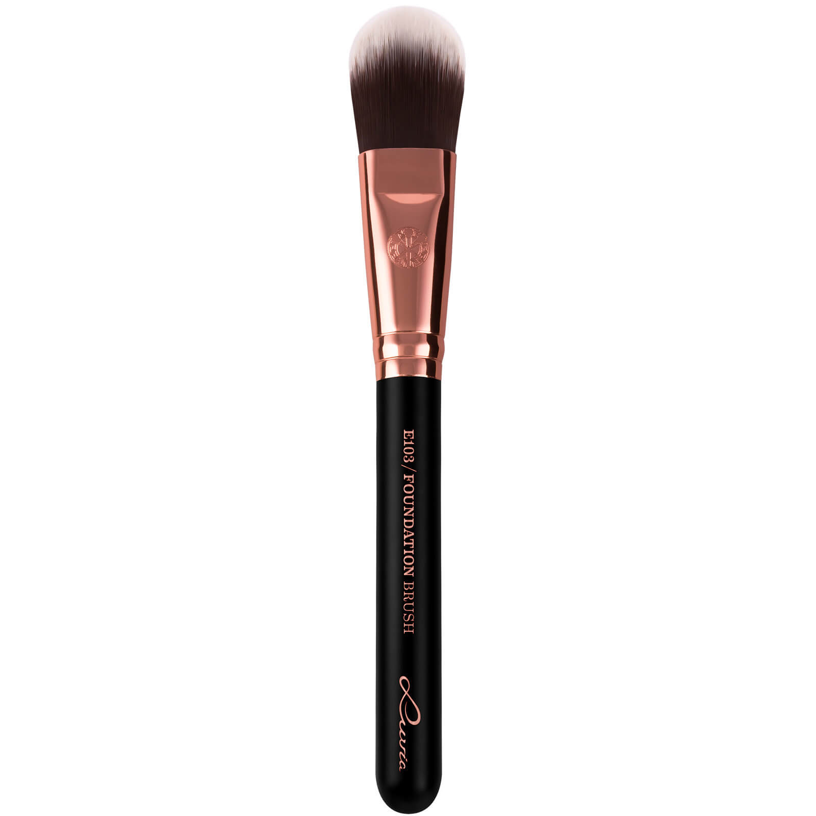 Luvia E103 Foundation Brush (Various Colours) - Black